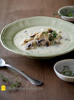 chicken cream of mushroom soup recipe