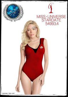 Star Trek 7 of 9 enters Miss Universe by gazomg
