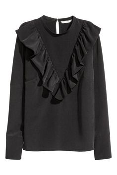 Frilled blouse   H&M