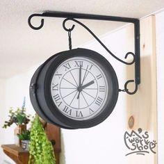 100均素材で「壁掛け両面時計」を作ろう♪|LIMIA (リミア)
