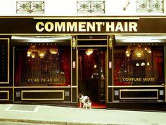 Comment' Hair  #paris, #dogs, #street, #peluqueria