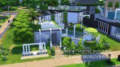 The Sims 4 - House Building - House Swap w/Auvbri SQ - Part 2