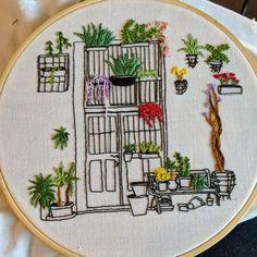 Diy Embroidery Patterns, Flower Embroidery Designs, Simple Embroidery, Hand Embroidery Patterns, Recycling, Stitch, Crochet, Crafts, Needlepoint Patterns