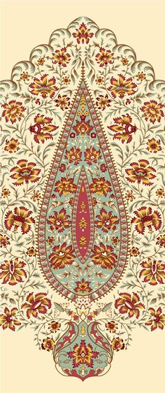 Paisley Art, A4 Paper, Textile Design, Art Gallery, Bohemian Rug, Textiles, Embroidery, Rugs, Pattern