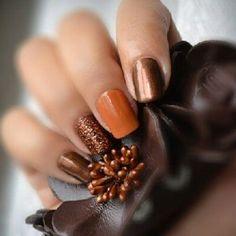 Best Fall Nails for 2017 - 65 Trending Fall Nail Designs - Best Nail Art
