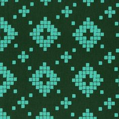 Prints Collection - Mesa - Tile Evergreen (4008-003) (per 1/2 yard)