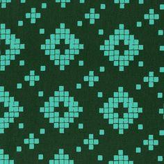 Prints Collection - Mesa - Tile Evergreen (4008-003) (per 1/2 yard)