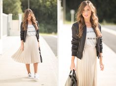 Pleated Skirt By Leyre Benito