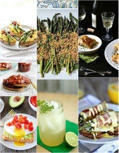 Fresh Spring Recipes   theVintageMixer.com #eatseasonal