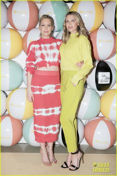 Erin & Sara Foster Team Up with Katharine McPhee at Saks Power Dressing Discussion!: Photo Erin and Sara Foster happily strike a pose alongside Katharine McPhee at Saks at Saks Fifth Avenue on Friday (May in New York City. The sister-duo and Katharine,… Sara Foster, Katharine Mcphee, Power Dressing, Strike A Pose, Saks Fifth Avenue, Style Icons, The Fosters, Photo Galleries, Bodycon Dress