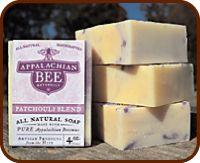 Appalachian Bee beeswax soaps and balsm - made in Ocoee, TN