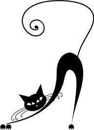 gatti disegni artistici - Cerca con Google
