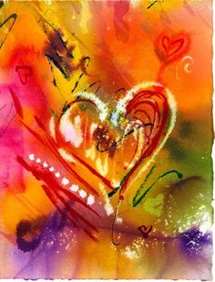 Love Equals Heart Fine Art Print by artandwares on Etsy