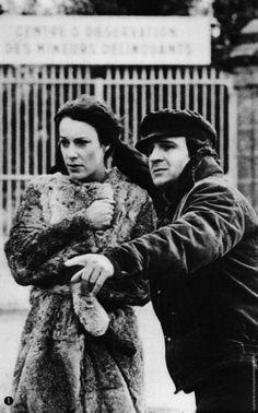 Bernadette Lafont -  François Truffaut