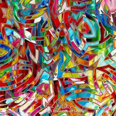 Painting Detail- Christian Art | Isaiah 55:7. Abundantly Pardoned | Modern Abstract Art