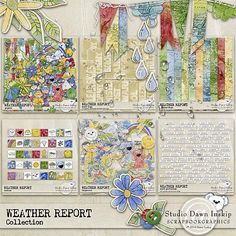 WEATHER REPORT COLLECTION by Dawn Inskip    http://shop.scrapbookgraphics.com/Weather-Report-Collection.html