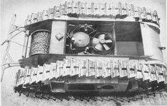 Panzer Fabrik — A top down view and diagram of. Military Robot, Military Weapons, Military Engineering, Self Propelled Artillery, E Motor, Ww2 Pictures, Chenille, German Army, Panzer