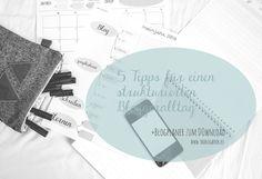 www.theblogbook.eu   5 Tipps für einen strukturierten Blogger-Alltag   Blogplaner Download