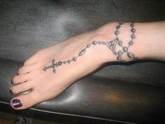 prayer beads tattoo... Love my rosary tattoo