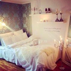 Calm & elegant bedroom design