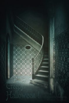 Creepy Halloween, Stairs, Image, Home Decor, Ladders, Homemade Home Decor, Stairway, Staircases, Decoration Home
