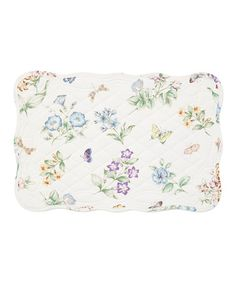 This Butterfly Meadow Quilted Place Mat - Set of Four is perfect! #zulilyfinds