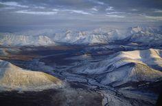 Arctic National Wildlife Refuge | Arctic National Wildlife Refuge, Brooks Range, Aichilik River, Alaska.