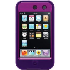 OtterBox Defender Series for iPod touch 4th Generation(Purple) you can find these on Amazon for like 12 bucks