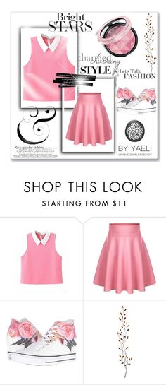 """""""Woman No.3"""" by deemonk ❤ liked on Polyvore featuring Converse, Pier 1 Imports and dress"""