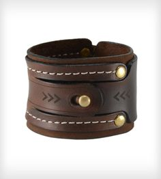 Dual Lock Leather Cuff Bracelet | Women's Bags & Accessories | The Leather Shop | Scoutmob Shoppe | Product Detail