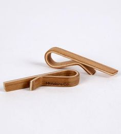 Cherry Wood Tie Bar by McAdams Co on Scoutmob Shoppe