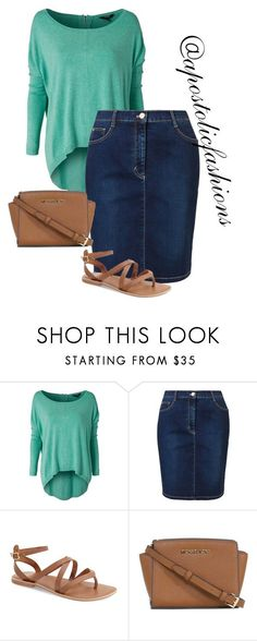 """Apostolic Fashions #1298"" by apostolicfashions on Polyvore featuring mbyM, Betty Barclay, Topshop and Michael Kors"