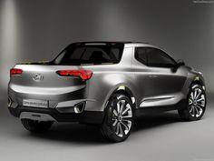 2015 Hyundai Santa Cruz Crossover Concept Truck
