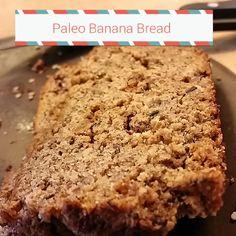 Paleo Banana Bread - moist and yummy!