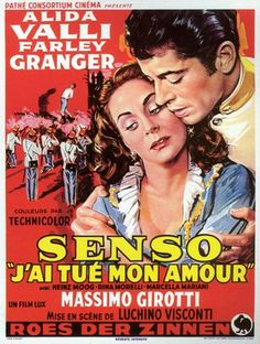 Senso 夏の嵐 (1954 Italy)