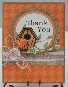 Greeting Card, A fun card created with Birdhouse Lane stamp set.... Cuteness!