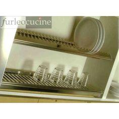 Scolapiatti Inoxmatic Acciaio INOX 18/8 completo cm 60  http://www.furleostore.com/accessori-cucina-1-1/scolapiatti/scolapiatti-inoxmatic-acciaio-inox-188-completo-cm-60