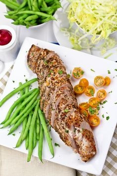 Orange Rosemary Pork Tenderloin by thehealthyfoodie #Pork_Tenderloin #Orange #Rosemary