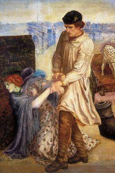 Cave to Canvas, Found - Dante Gabriel Rossetti, c. Dante Gabriel Rossetti, John Everett Millais, John Keats, Oil On Canvas, Canvas Art, Pre Raphaelite Brotherhood, Free Art Prints, Oil Painting Reproductions, Victorian Art