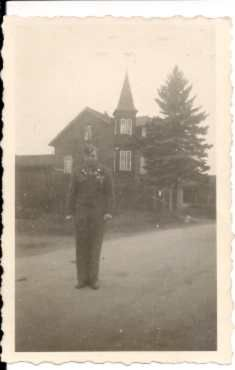 My dad, Julius Cole, in Bamburg, Germany after reassignment to the 16th Regiment, First Infantry Division.  Nov., 1945.