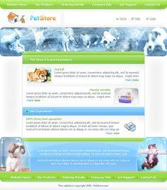 Pet World Webpage Template - 0074 - Animals & Pets - Website Templates - DreamTemplate