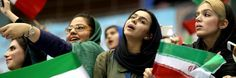 Tehran is trying to bar female sports fans from cheering on the national football team and volleyball team in public, citing concerns over immorality.