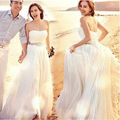 ウェディングドレス、二次会、ロングドレス、ウエディングドレス、ビスチェタイプ、エンパイアドレスhs299