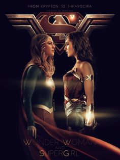 "misslane1981: ""From Krypton to Themyscira. I need this movie with Melissa and Gal, directed by Patty Jenkins. Superheroes, immortals, super strong, bisexual women… yeah why not? hehehe """