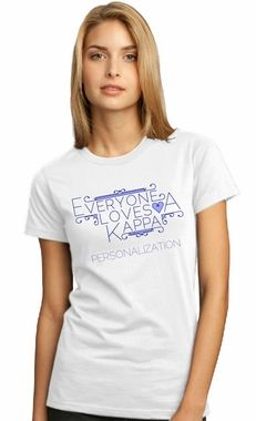 Kappa Kappa Gamma Everyone Loves Us Tee #KKG #t-shirts #sororityclothing