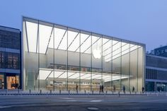 Westlake Apple Store FOSTER + PARTNERS