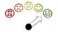 Performance gauge pointing at green smiley – CreativityGems