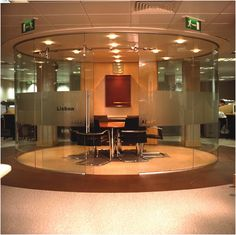 Curved Glass Corporate Office