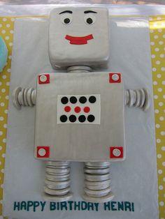 henri's robot party