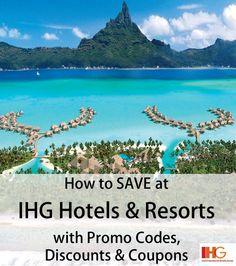 Deals and Promo Codes for IHG Hotels & IHG Rewards